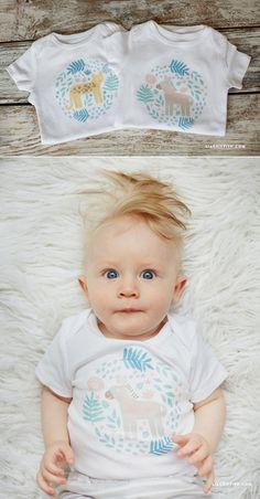 #Baby #IronOn #SafariAnimal www.LiaGriffith.com