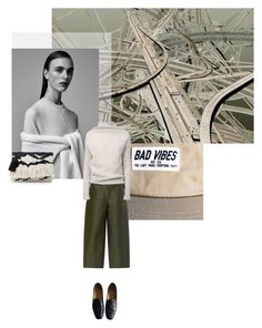 """""""+ Comfortabel +"""" by fl0rette ❤ liked on Polyvore featuring moda, MANGO, Lemaire, Isa Arfen y Rick Owens"""