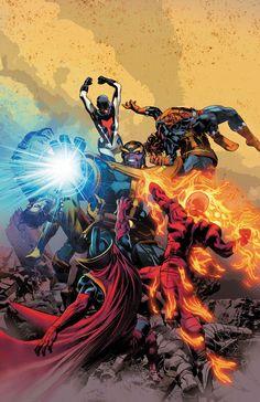 Thanos 003 Mike Deodato Jr.