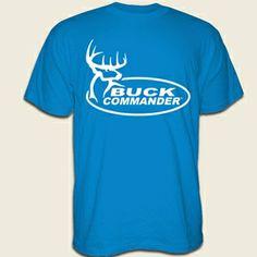 Buck Commander Store - BC TURQUOISE W/WHITE LOGO SHIRT small