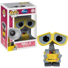 Buy WALL-E Funko Pop! Vinyl from Pop In A Box UK, the home of Funko Pop Vinyl subscriptions and more. Funk Pop, Figurine Pop Disney, Pop Figurine, Pop Figures Disney, Disney Pop, Wall E, Toy Art, Tous Les Disney, Pop Vinyl Collection