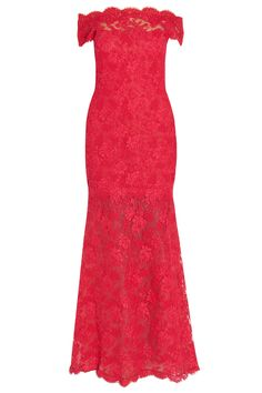 MARCHESA  Bateau Neck Lace Gown  $8,325.86