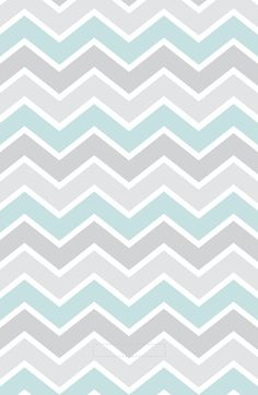 Artsy Vintage Multi Blue Chevron Stripes Art Print by The Little Canopy