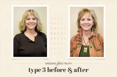 Dee's hot Type 3 Dressing Your Truth Makeover!