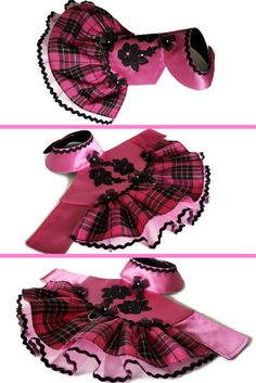 Small #dog clothes, Pet dog #dress #hotpink dog dress, Girl dog clothes, Fancy dog dress, Puppy dog clothes, Dog dress, Cute dog clothes ,Size XS, #pink