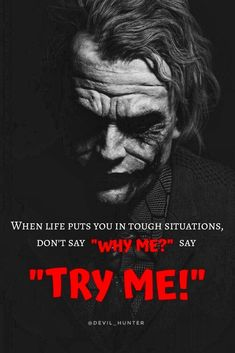 Joker Qoutes, Best Joker Quotes, Badass Quotes, Best Quotes, Heath Ledger Joker Quotes, Wisdom Quotes, True Quotes, Motivational Quotes, Funny Quotes