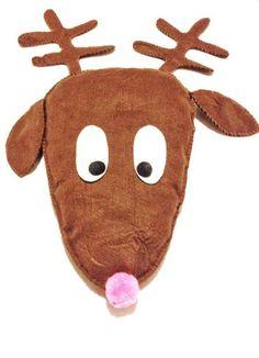 Free Sewing Pattern: Reindeer Pattern