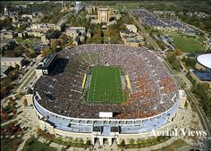 Notre Dame Stadium (Touchdown Jesus is awesome) - South Bend, IN