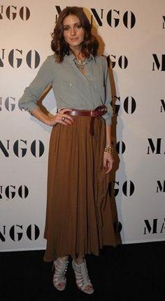 Olivia Palermo - Long Skirt