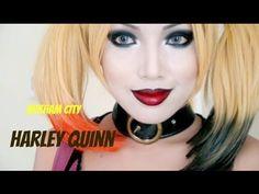 maquillaje harley quinn - Buscar con Google
