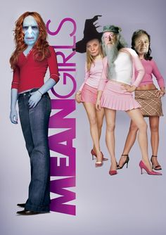 Harry Potter / Mean Girls this is the best thing i have seen in some time.