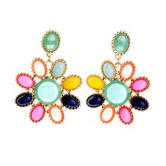 Multi Color Candy Earrings - Helen's Collection