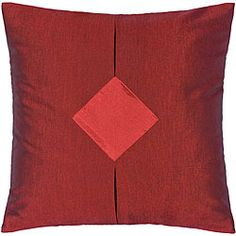 @Overstock.com - Red and Crimson Thai Silk Cushion Cover - Bring a touch of allure to your home decor with this silk cushion coverThrow pillow cover was handcrafted by talented artisans in northern ThailandDecorative silk accessory boasts a hypnotic deep red with center crimson accent  http://www.overstock.com/Home-Garden/Red-and-Crimson-Thai-Silk-Cushion-Cover/3345890/product.html?CID=214117 $18.29