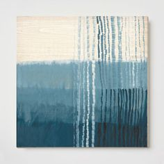 "Oversized Ripple Wall Art | West Elm $169 for 29""x29"""