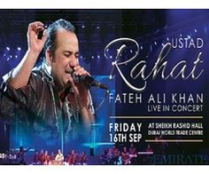 Tickets for Ustad Rahat Fateh Ali Khan Live in Dubai