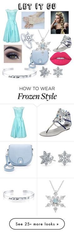 """Modern Day Elsa"" by lemonlime9518 on Polyvore featuring Jacques Vert, René Caovilla, Lime Crime, rag & bone, Bling Jewelry, BERRICLE, Belk Silverworks and modern"