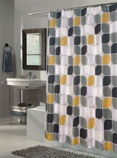 Mad for Mid-Century: Mid-Century Modern Shower Curtain