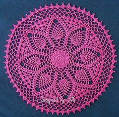 Feathered Petals ~ free pattern