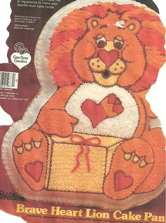 Wilton Brave Heart Lion Cake Pan (2105-3197, 1984) American Greetings > Unbelievable product is here! : Baking pans