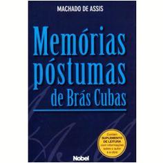Memórias Póstumas de Brás Cubas - Machado de Assis (Brazilian writer)