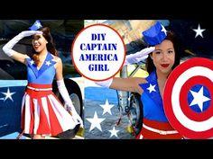 DIY Captain America USO Girl Costume- No Sew! - All