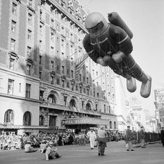 Vintage Macy's Thanksgiving Day Parade Photos--Life was simpler then. And so was the parade.