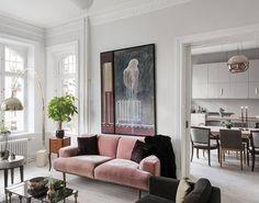 "301 Likes, 3 Comments - Rise Art (@riseart) on Instagram: ""Plush & pink #interiorinspo . . . . #interior #interiors #interiorsofinstagram #interiorinspo…"""