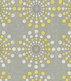 Home Decor Print Fabric-Waverly Circular Motion Sterling, , hi-res