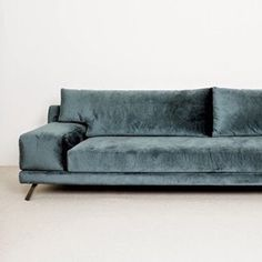 karien anne - furniture: grey navy velvet sofa