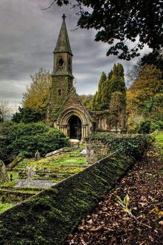 ARCHITECTURE – Ancient, Overton Church, Wales photo via bridget. Tolkien is said to have used Welch influence for his books. Places Around The World, The Places Youll Go, Places To See, Around The Worlds, Beautiful World, Beautiful Places, Beautiful Ruins, Old Churches, Abandoned Churches