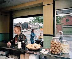 Photography Martin Parr. Salford, Greater Manchester, 1986. Unseen photos from Martin Parr's archive in Dazed spring