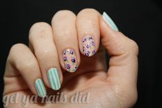 Mixed prints: | 27 Ideas For Awesome AccentNails