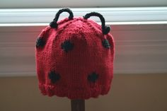Hat for lady bug costume