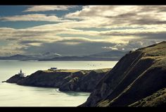 Lighthouse from Howth Hill, Ireland by Tyler Porter
