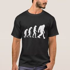 Bigfoot Evolution T-shirt - click/tap to personalize and buy