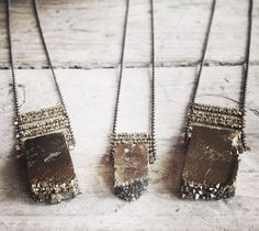 Stone necklaces. For more follow www.pinterest.com/ninayay and stay positively #pinspired #pinspire @ninayay