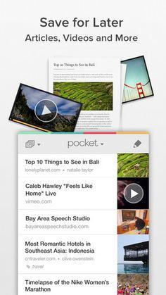 Pocket se actualiza para los dispositivos móviles con iOS
