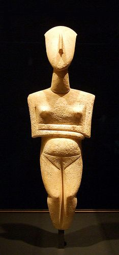 Pregnant Cycladic Female - 2400 BC - Getty Villa - Malibu, CA