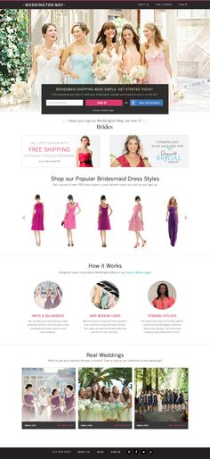 Huffington Post featured @Whitney Eddington Way in story on Top Wedding Websites
