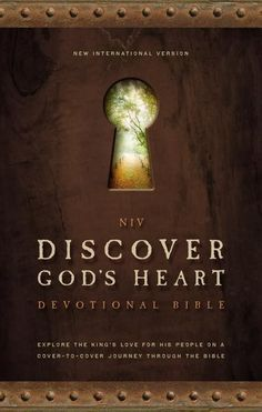 [NIV] Discover God's Heart Devotional Bible] Feel Gods Love flowing Towards you And Within you, His Peace and Love Calming, Reassuring you. Go to FaithGatewaystore.com