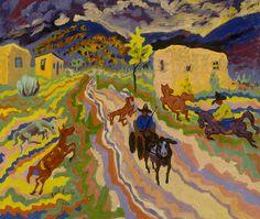 EMIL ARMIN Wild West (1929)