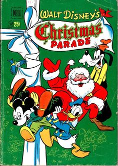 Walt Disney's Xmas Parade