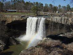 Noccalula Falls, in Gadsden AL