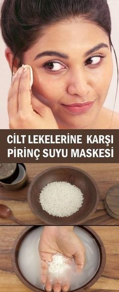 Rice Juice Mask for Skin Spots - Make Up Braid Crown Tutorial, Spring Tutorial, Facial Yoga, Skin Spots, Skin Mask, Hair Decorations, Diet And Nutrition, Body Care, Health And Beauty