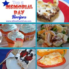 Top 5 #MemorialDay #recipes