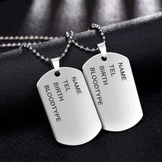 Cheap jewelry gift wrap, Buy Quality jewelry mirror full length directly from China jewelry comment Suppliers: Classic Stainless Steel Man necklace Military Army Dog Tags Men's Pendant Link Chain Necklaces Jewelry Choker Wholesale gifts Mens Chain Necklace, Pendant Necklace, Chain Necklaces, Dog Tags Military, Military Army, Army Dogs, Gold Chains For Men, Black Choker, Jewelry Gifts