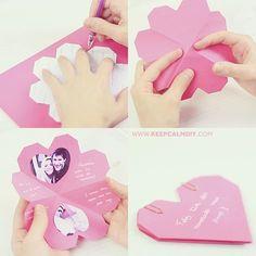 Cartão de Corações   Presente Dia dos Namorados...