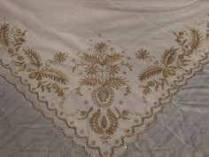 Antigua, Blouse Designs, 18th Century, Hand Embroidery, Scarves, Petticoats, Sequins, Chain Stitch, Aprons