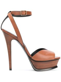 850d06c8754f Saint Laurent Tribute Sandals. Sandals OutfitAnkle StrapsAnkle Strap HeelsShoes  HeelsHigh HeelsSexy ...