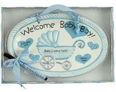 Christening Gifts For Boys, Baby Boy Birth Announcement, Baby Keepsake, Wooden Plaques, Welcome Baby, Personalized Baby, Baby Gifts, Ornament, Crafts